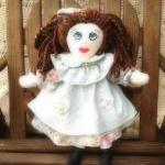 Rosy Mint Cloth Rag Doll H..